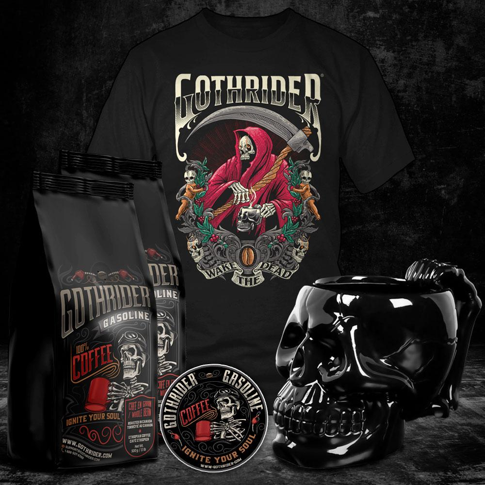 Gasoline Ultimate Deadly Kit - GothRider®