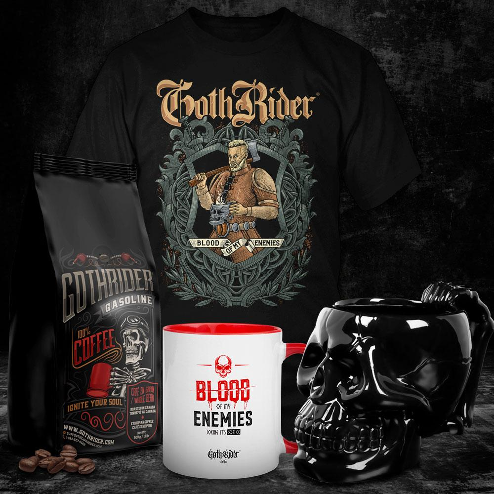 Gasoline Ultimate Viking Kit - GothRider®