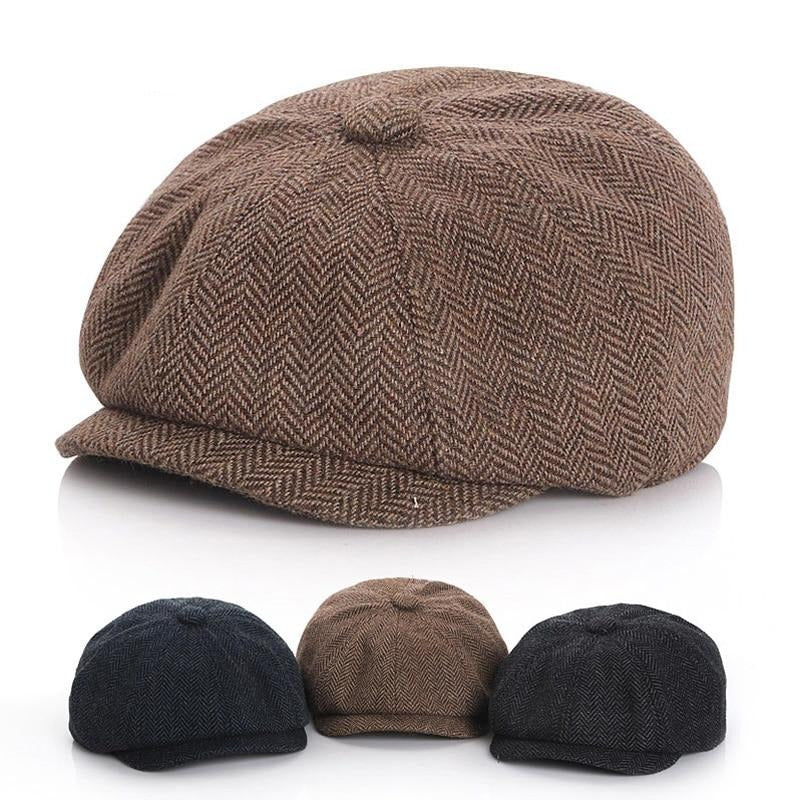 Baby Boys Hat Vintage Newsboy Kids Cap Hat Autumn Winter Baby Cap Children Hats