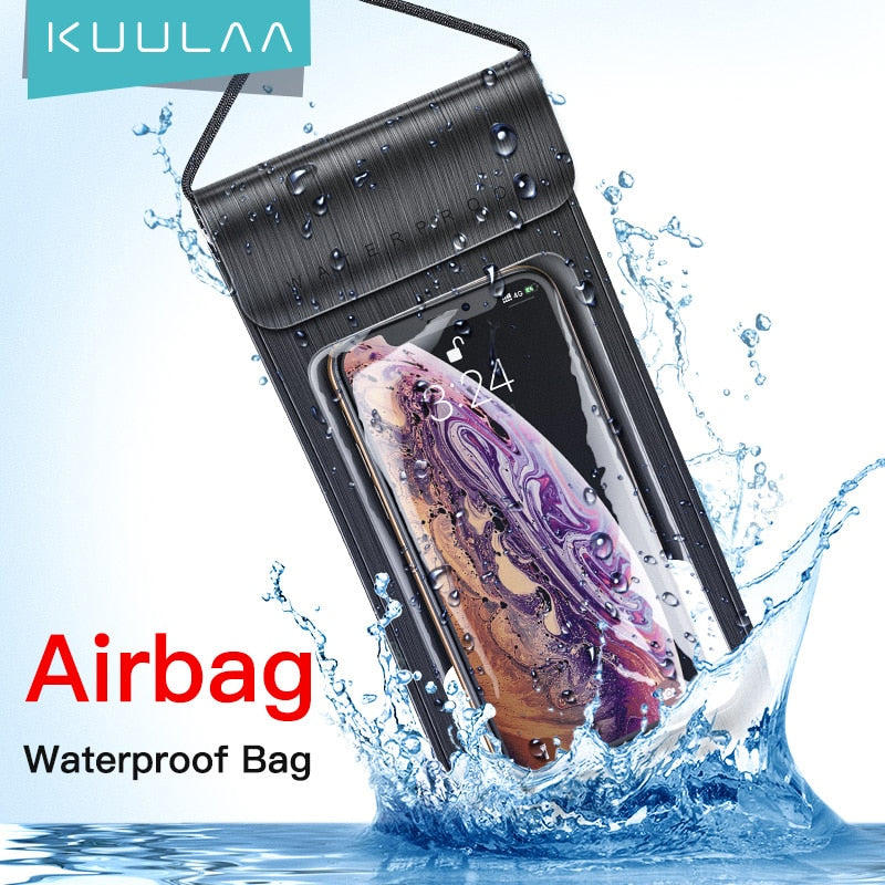 Waterproof Phone Pouch Underwater Phone Bag Case Swimming Diving Phone Case Bag