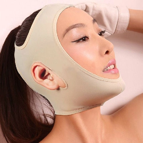 Delicate Facial Slimming Bandage Skin Care Belt Shape and Lift Reduce Double Chin