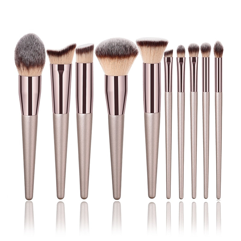 Professional Makeup Brushes Set Foundation Powder Blush Eyeshadow Concealer Lip Eye Make Up Brush