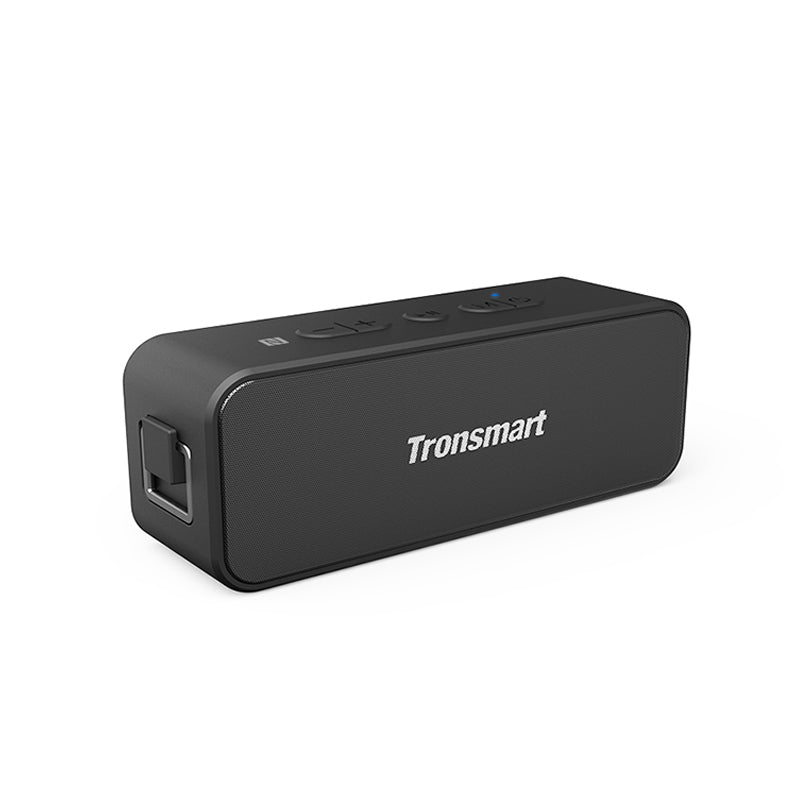 Tronsmart T2 Plus Bluetooth 5.0 Speaker 20W Portable Speaker 24H Column IPX7 Sound bar with NFC, TWS, Voice Assistant, Micro SD