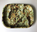 Green Rolling Tray