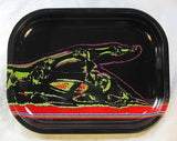 Neon X-Ray Rolling Tray