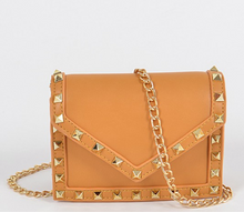 Load image into Gallery viewer, Studded Mini Bag (Mustard)