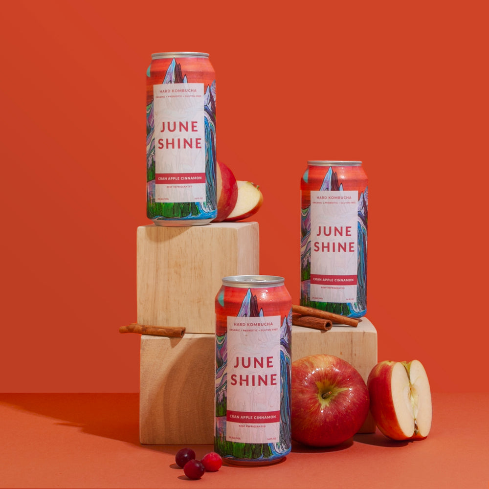 Load image into Gallery viewer, JunShine Cran Apple Cinnamon - 6% ABV