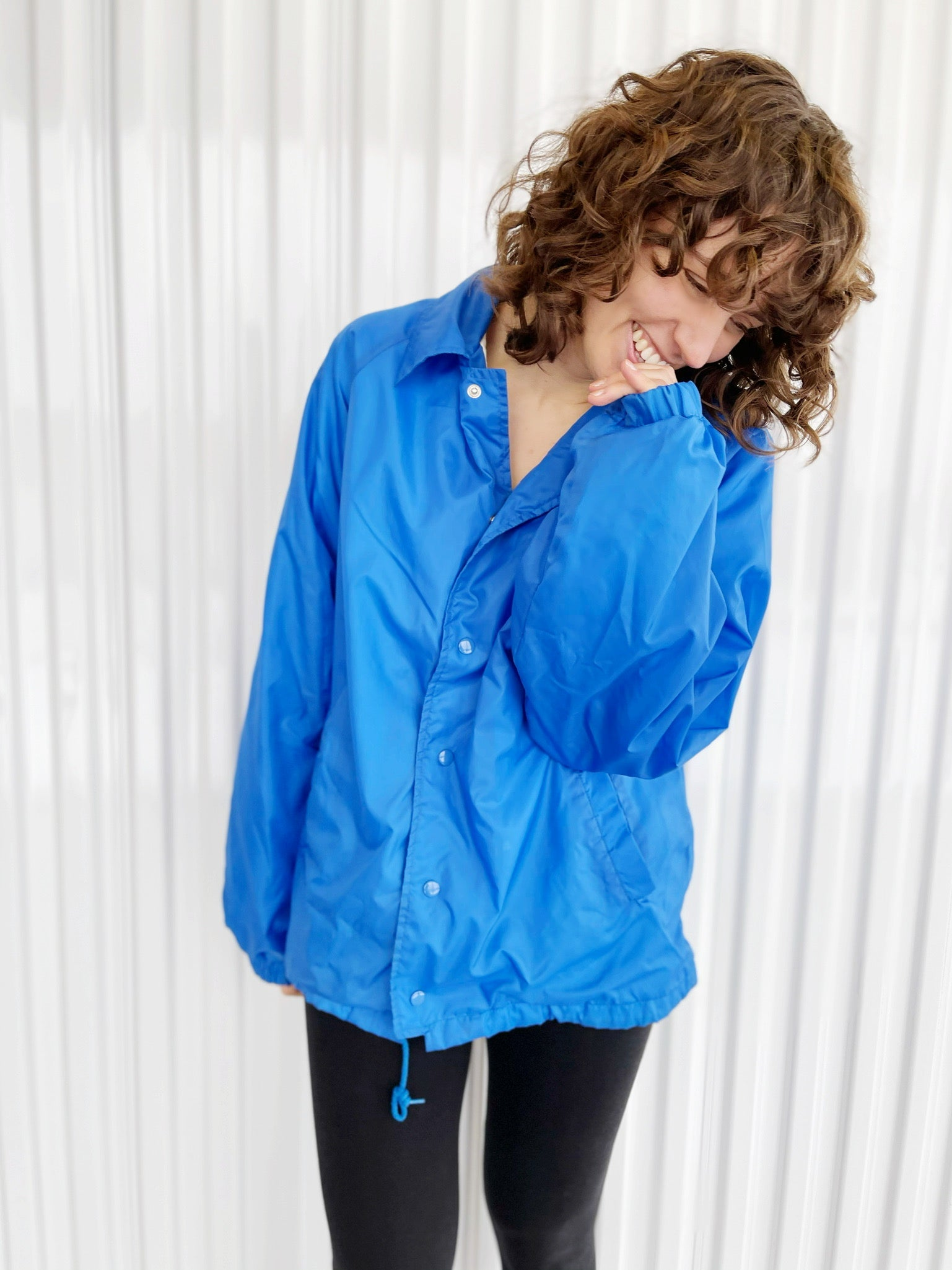 Blue Lightweight Jacket (L)
