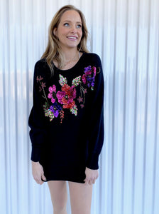 Victoria Jones Sequin Sweater