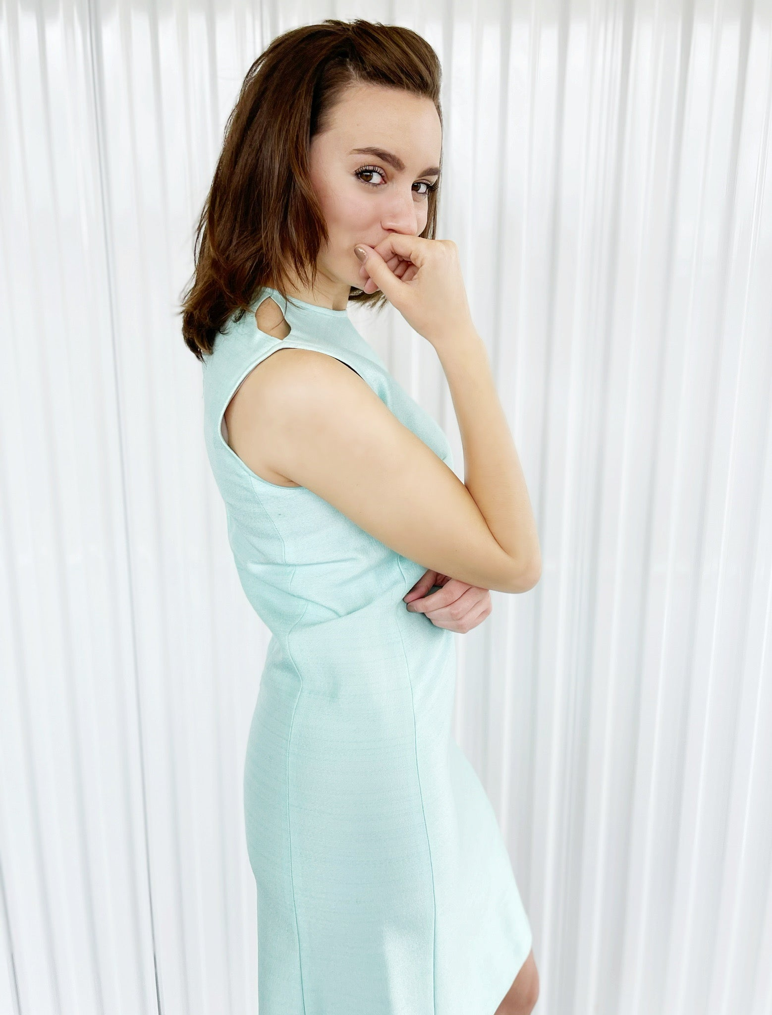 Mint Shift Dress