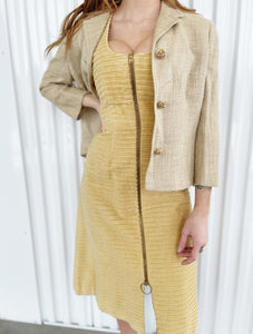 Bettina by Oval Room Blazer with Jeweled Buttons