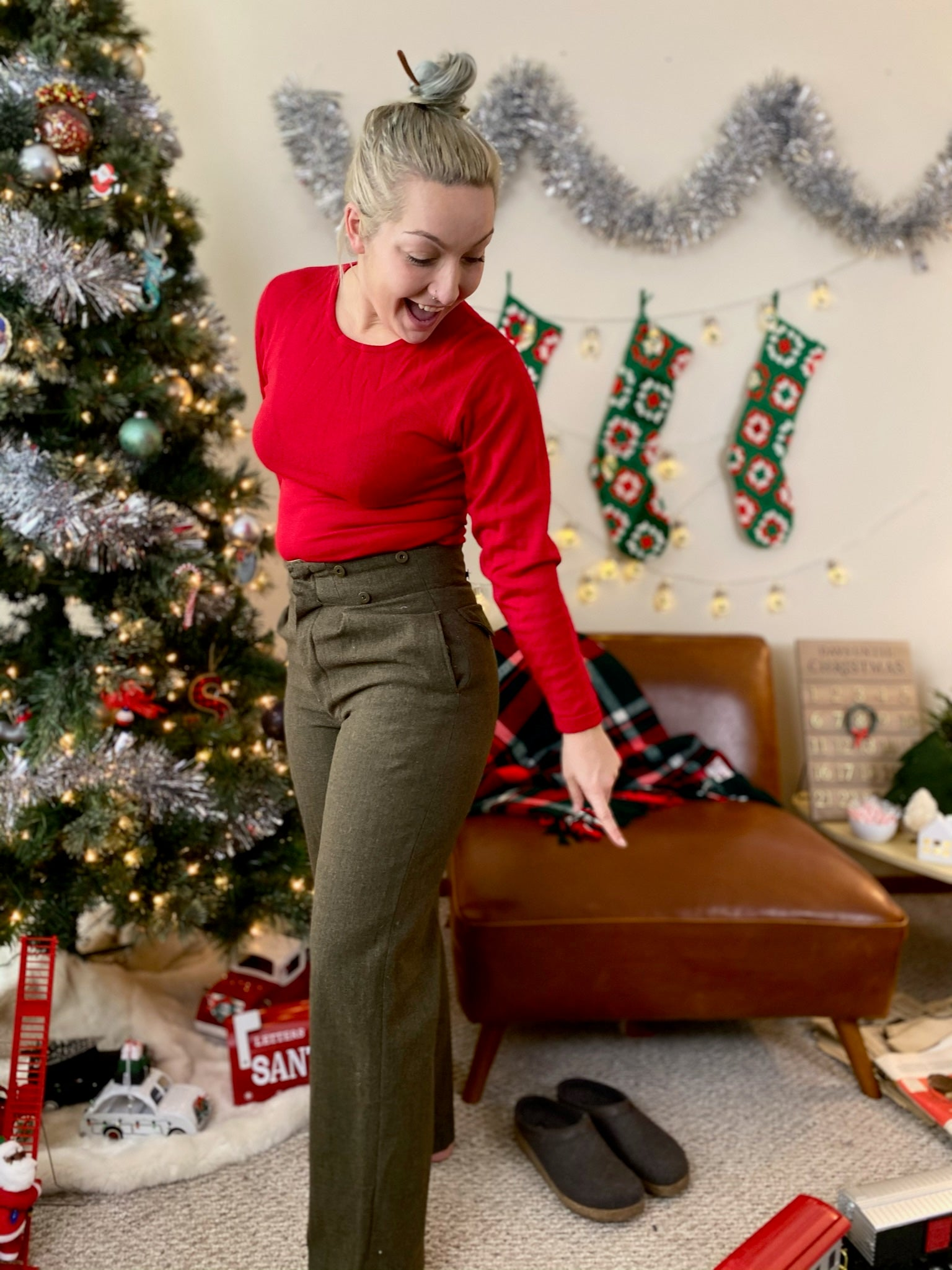 Army Cadet 1957 Wool Pants (30)
