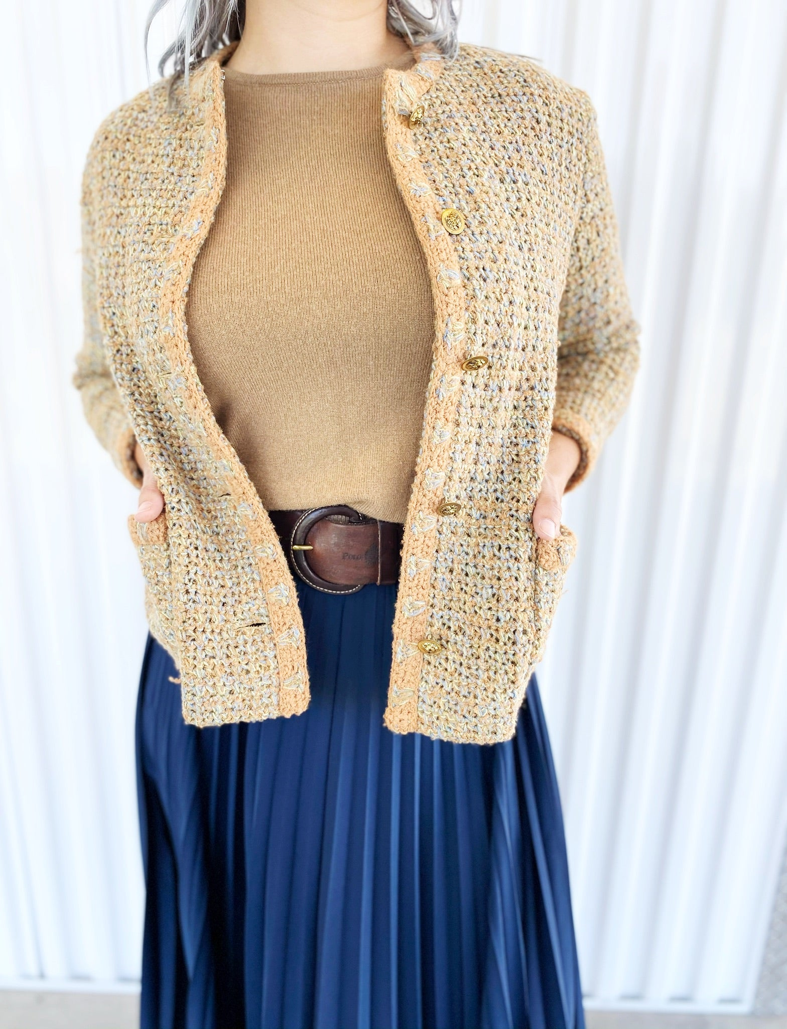 Christele Anne Hand Crocheted Jacket