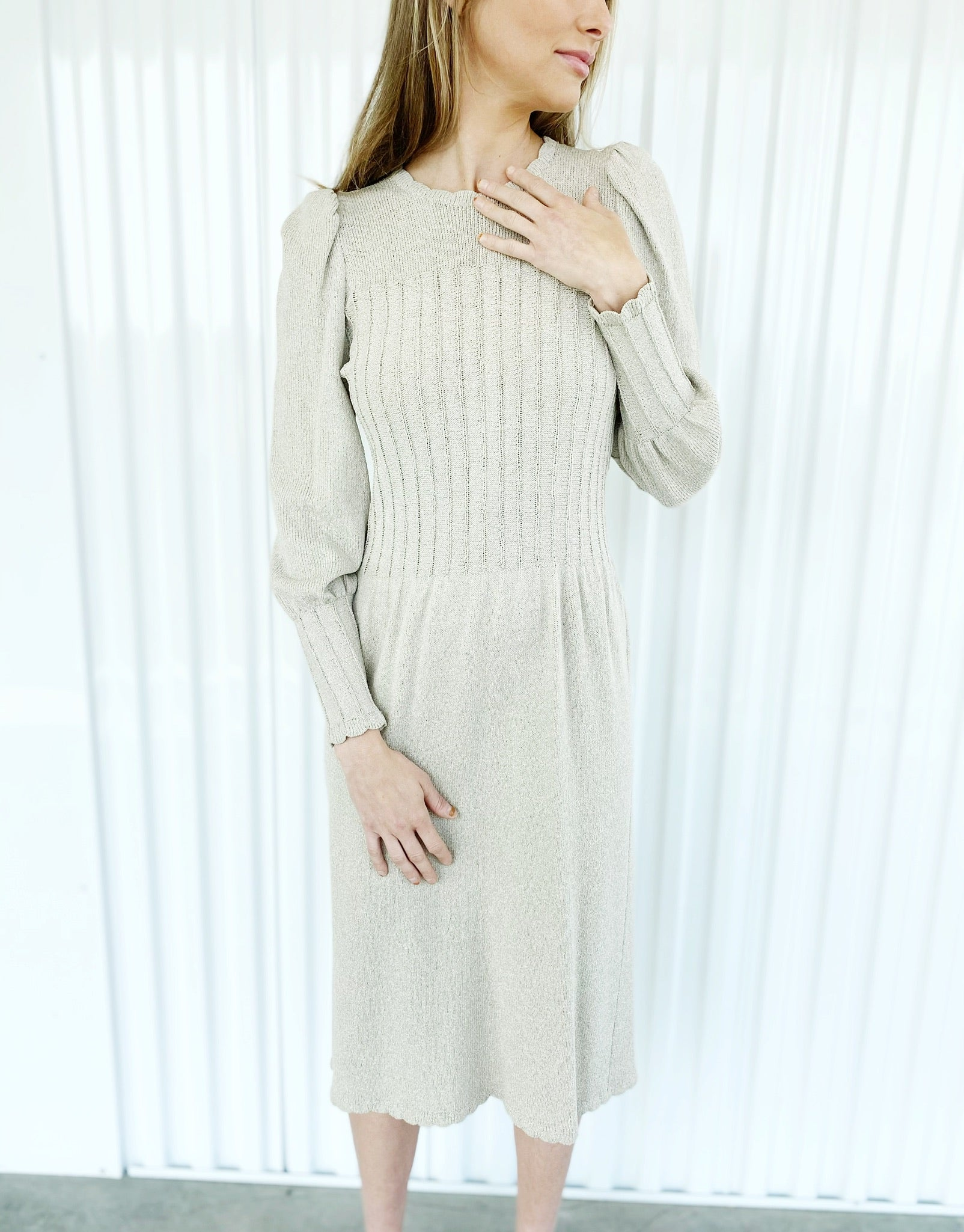 Adolfo Knit Dress