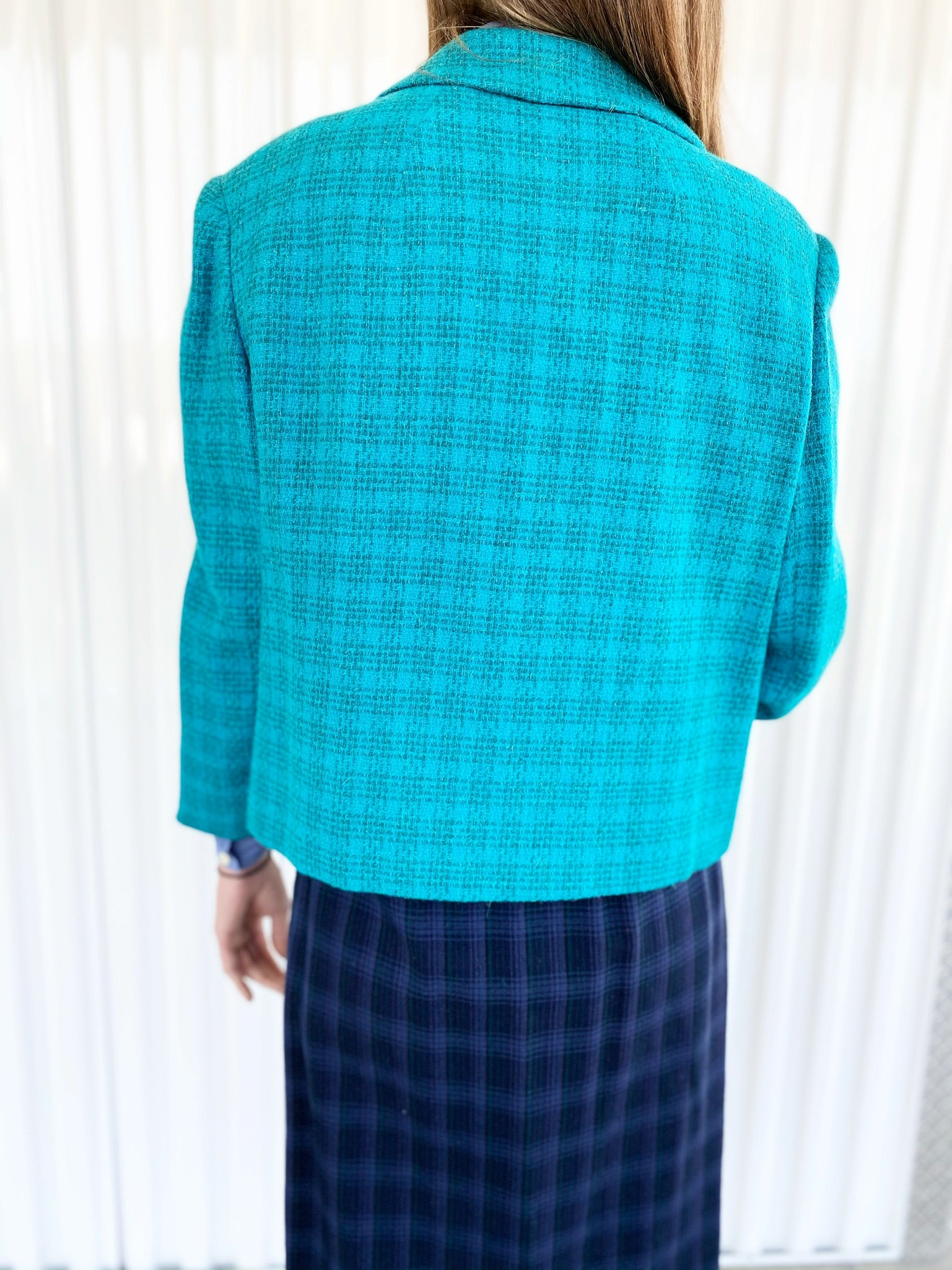Towncliffe Plaid Wool Jacket