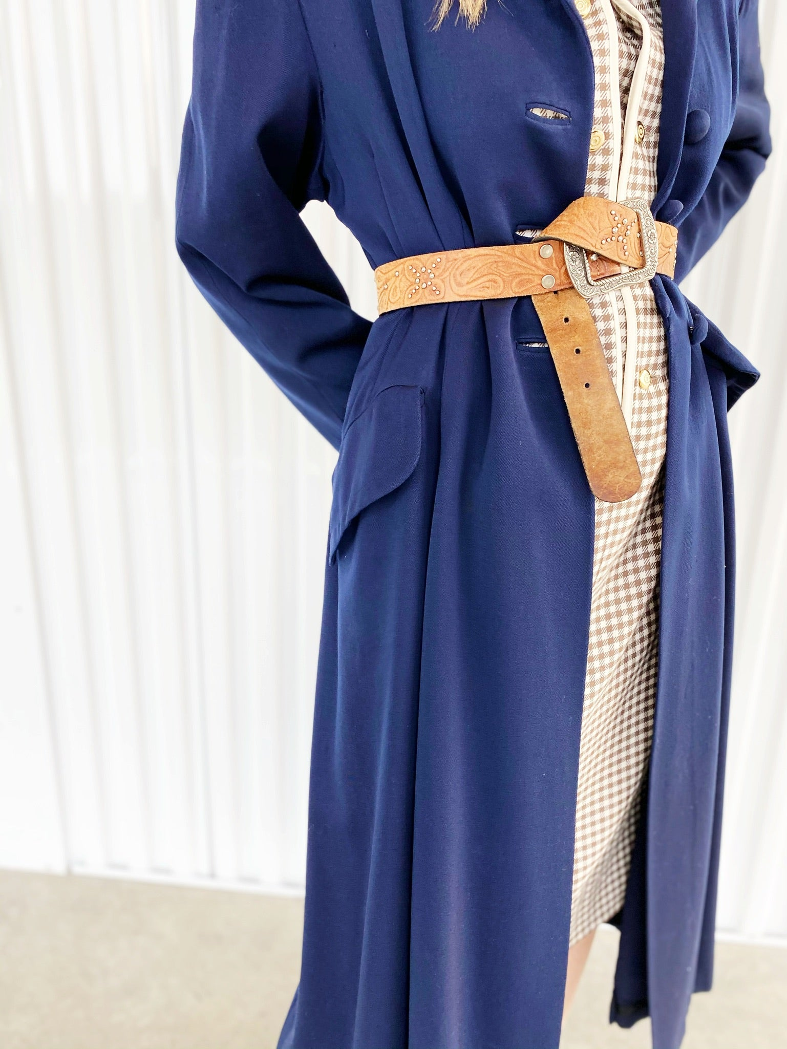 Vintage Tory Kane Long Duster Coat