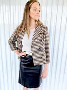 Buttrey's Houndstooth Jacket