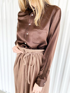 Silk Blouse (M)