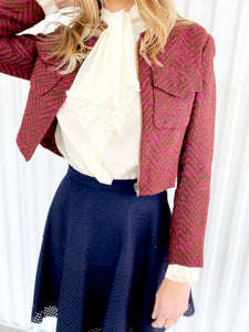 Chevron Jacket
