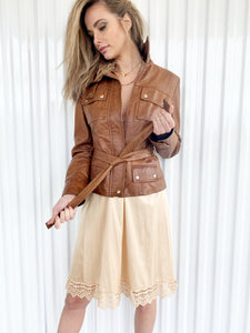 Mitici Anni Leather Jacket (M)
