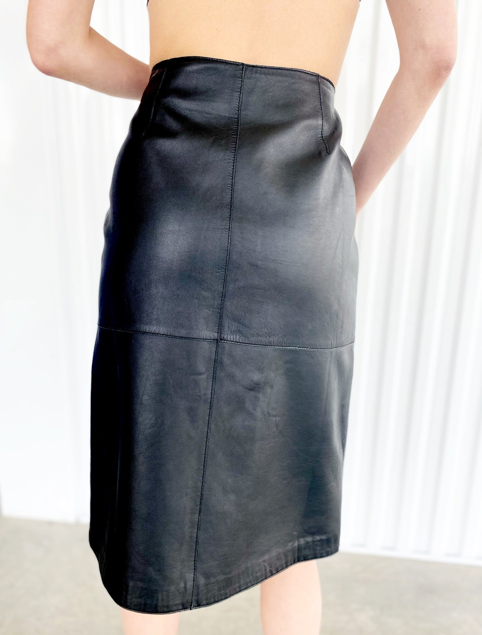 Leather Skirt (6)