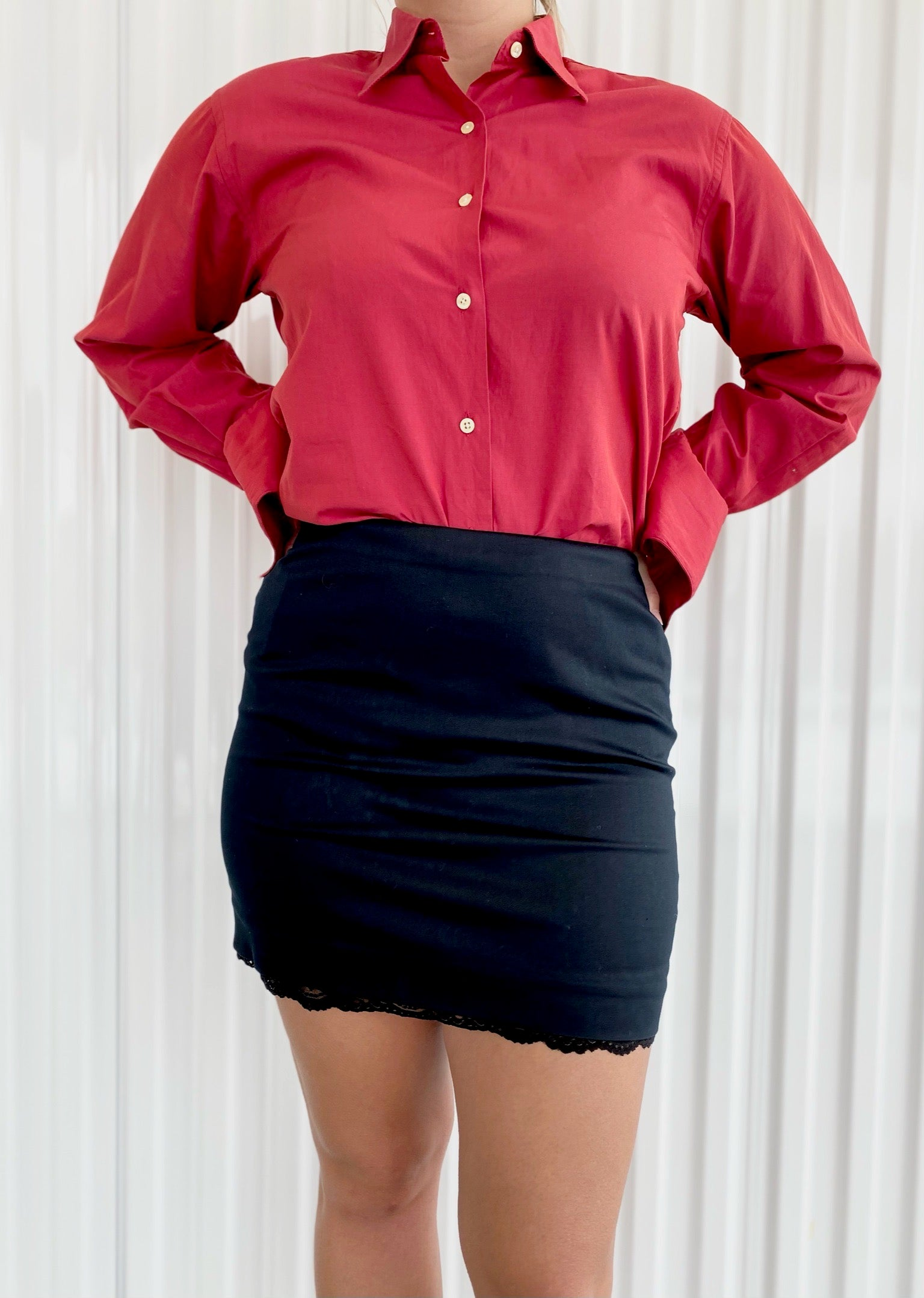 Stretch Mini Skirt (2)
