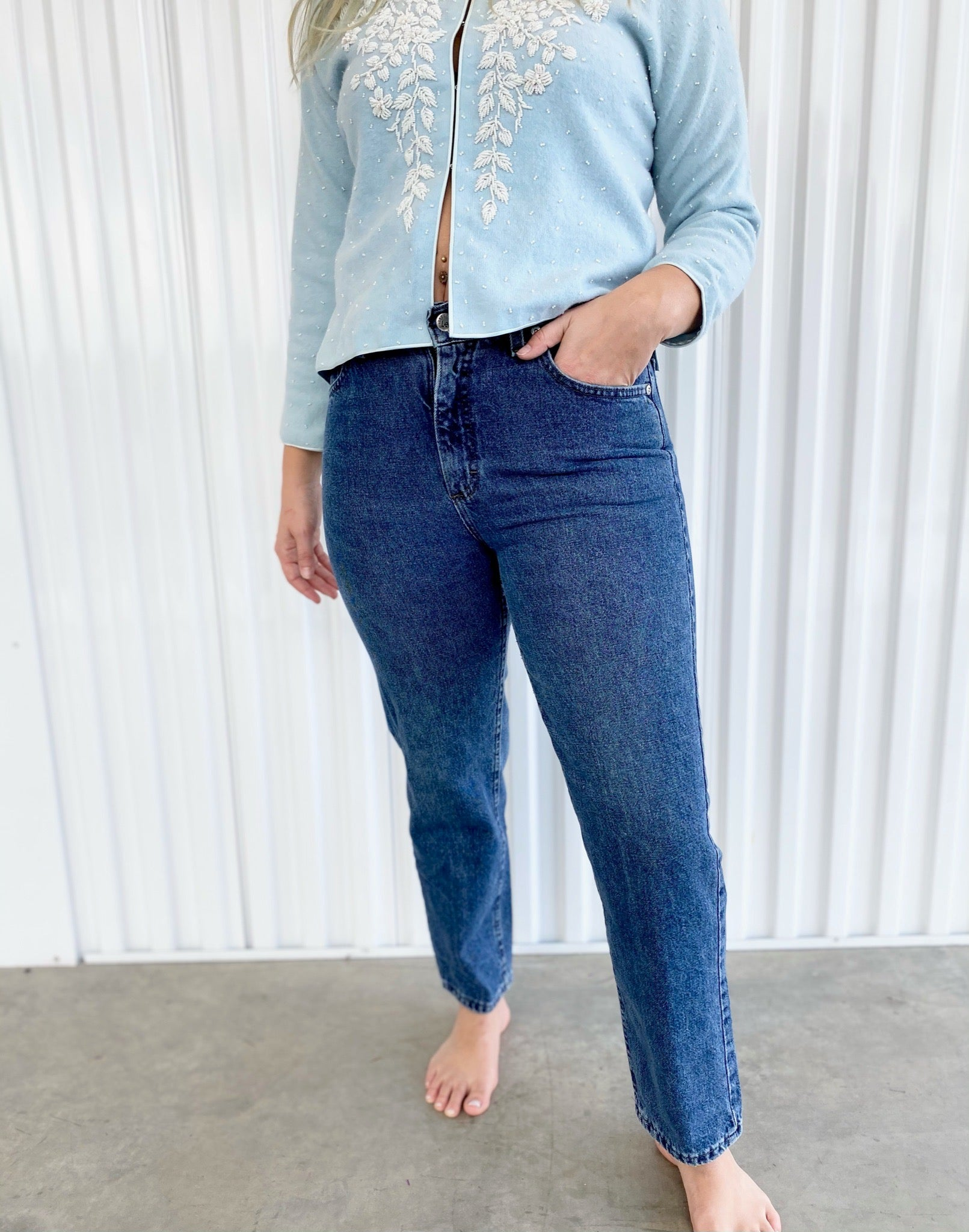 Lee Dark Wash Jeans (31)