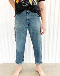 Wrangler Distressed Painter Jeans