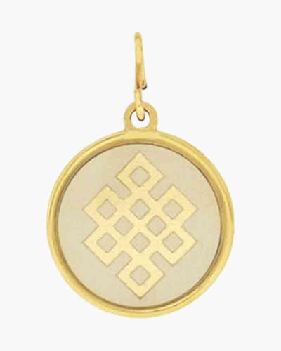 Alex and Ani Endless Knot Pendant Charm