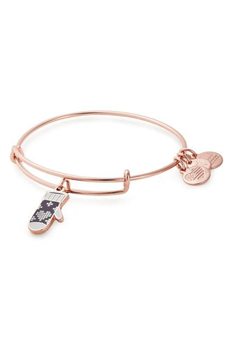 Alex and Ani Mitten Charm Bangle