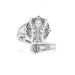 Godspeed Spoon Ring - Sterling Silver