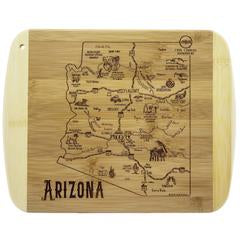 A Slice of Life Arizona Bamboo Cutting and Serving Board