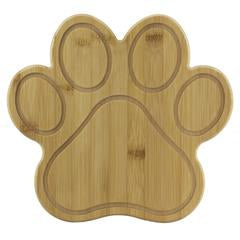 Paw Shaped Serving and Cutting Board