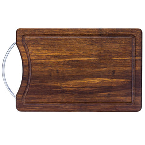 Crushed Bamboo Cutting and Serving Board - 13""