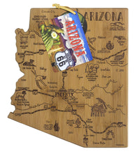 Load image into Gallery viewer, Arizona Etched Bamboo Cutting and Serving Board