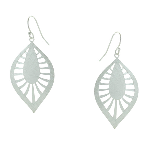 Takobia Spoked Teardrop Earrings