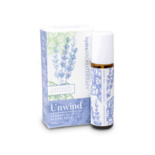 Load image into Gallery viewer, hydraAROMATHERAPY Unwind Essential Oil Roll-On