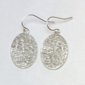 Petite Oval Filigree Earrings