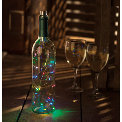 Wine Bottle Lights - Multicolored Twinkle Lights