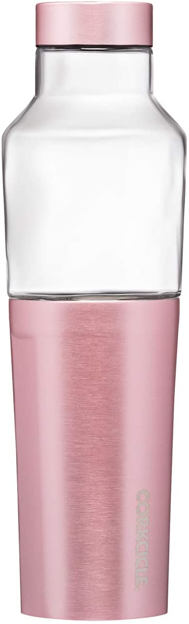 Corkcicle Rose Metallic 20 oz Hybrid Canteen