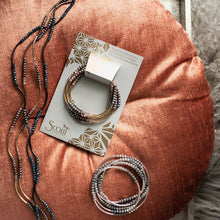 Load image into Gallery viewer, Scout Wrap : Dove Gray Multi/Silver