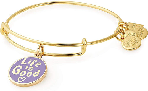 Alex and Ani Life is Good Charm Bangle