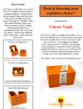 Load image into Gallery viewer, Cheese vault description