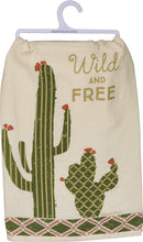 Load image into Gallery viewer, Wild and Free Cactus - Dish Towel