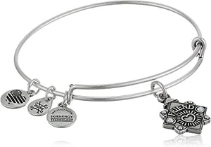 Because I Love You Friend Charm Bangle