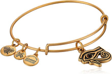 Load image into Gallery viewer, Alex and Ani Eye of Horus Charm Bangle
