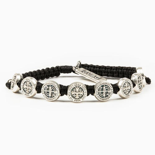 My Saint My Hero Share the Love St Amos Bracelet Black