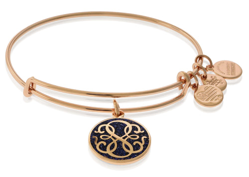 Path of Life Charm Color Infusion Bangle Bracelet