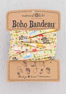 Boho Bandeau Camp Go Where You Feel Alive