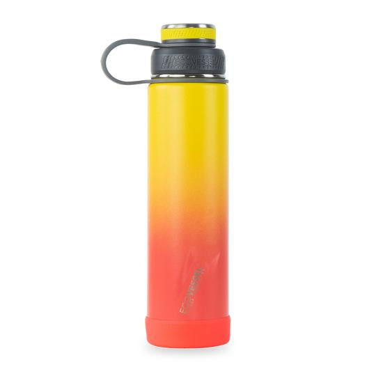 The Boulder - Rising Sun TriMax Insulated Water Bottle with Strainer 24oz